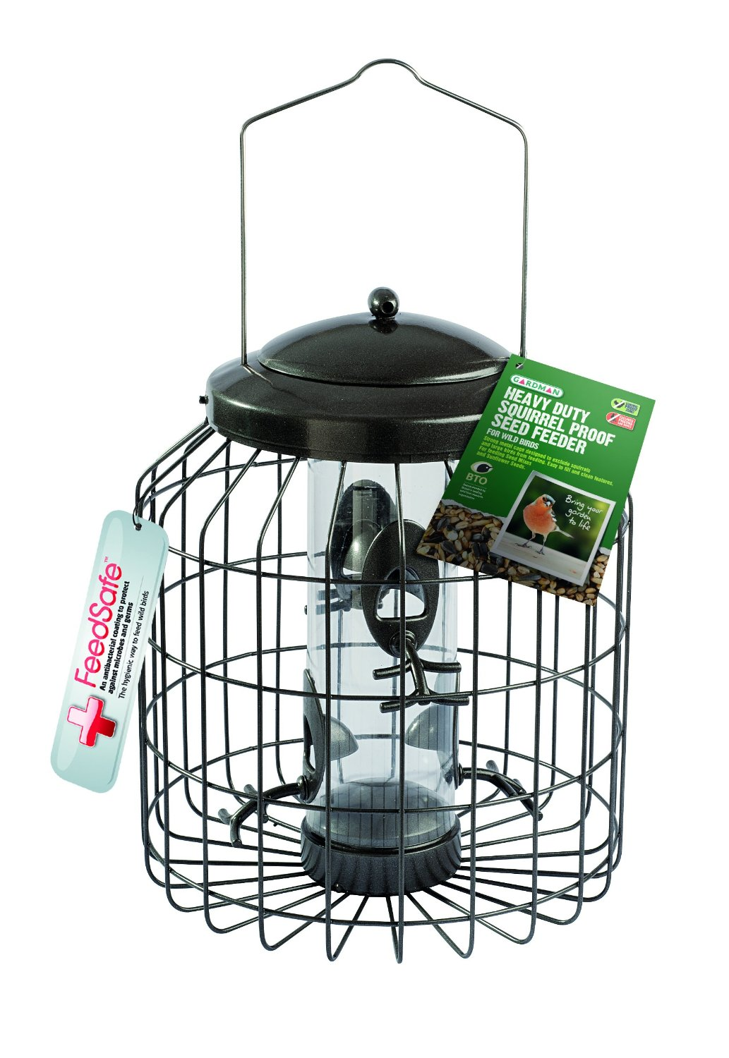 the 3 best squirrel proof bird feeders to buy in 2018. Black Bedroom Furniture Sets. Home Design Ideas