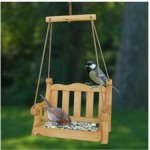 Swing Seat Bird Feeder / Bird Table
