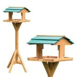 Traditional Wooden Bird Table (1475A) Review 2017