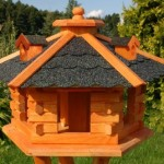 Birdhouse/ Birdfeeder With Asphalt Shingles, Bird Feeders, Bird Table Review 2017
