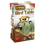 Kingfisher Premium Wooden Bird Table with built in Nut Feeder Review 2017