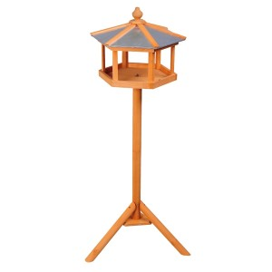 Homcom Deluxe Wooden Garden Bird Feeding Table Review 2017
