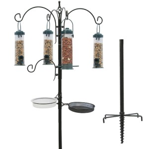 Scott & Co Complete Bird Feeding Station Kit with Feeders Review 2017